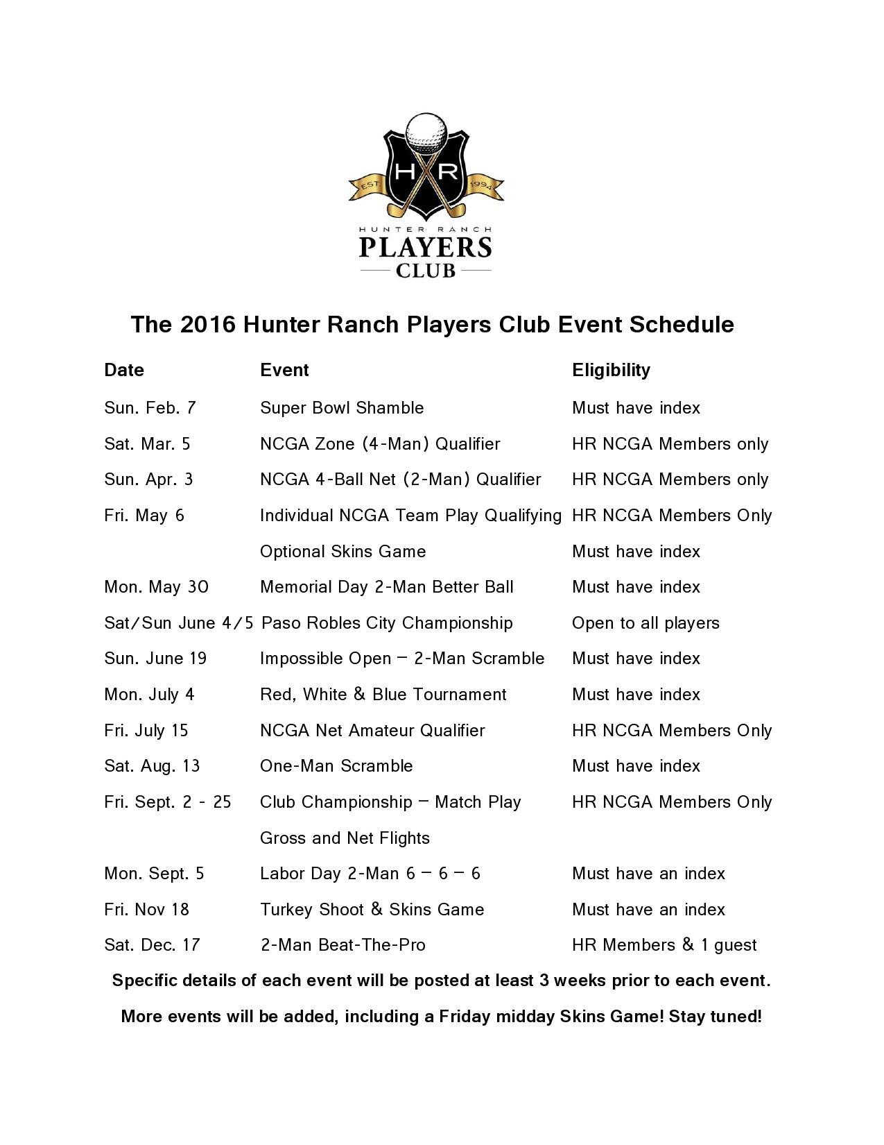 16 01 29 2016 Players Club Schedule updated page0001