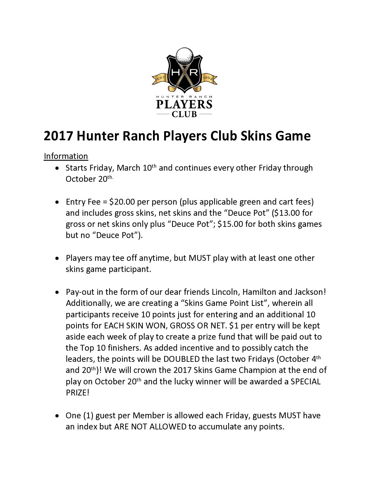 17 03 04 2017 Hunter Ranch Players Club Skins Game page0001