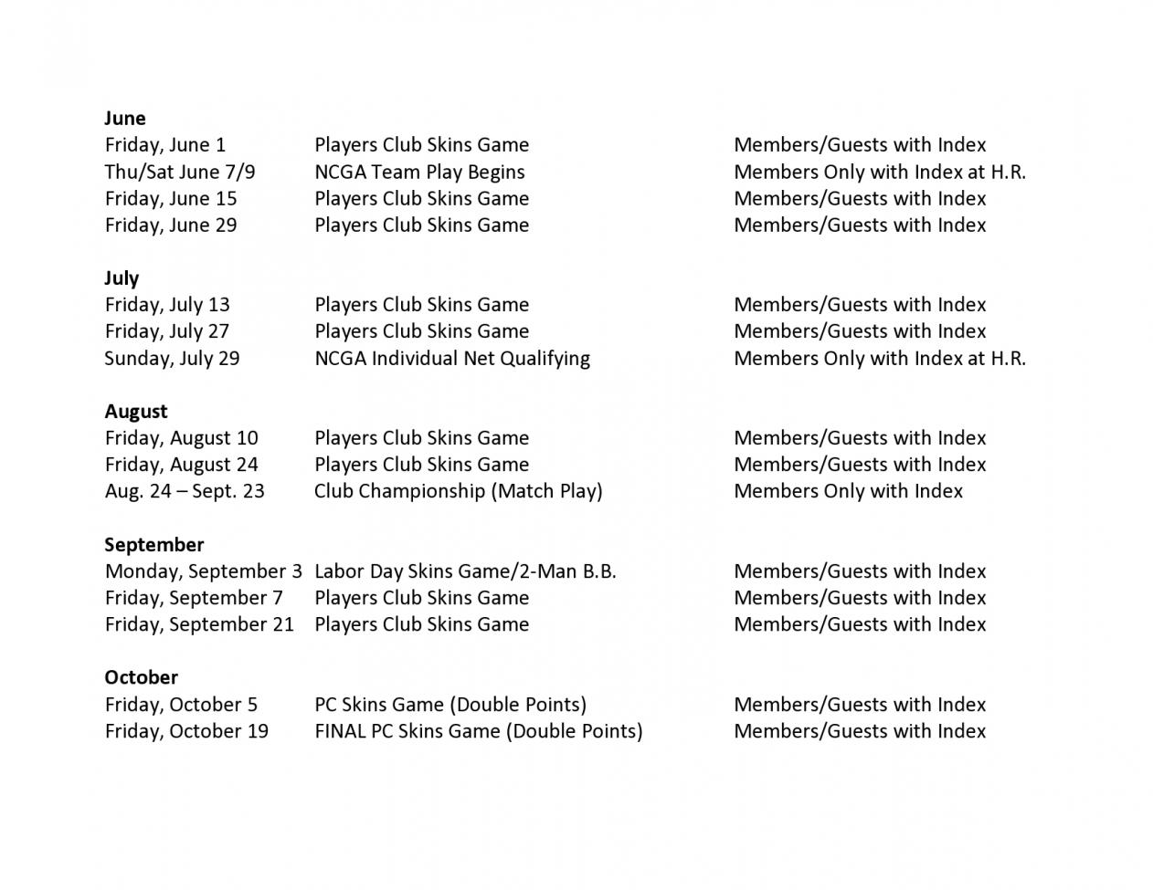 18 02 01 2018 Players Club UPDATED Tournament Schedule page0002